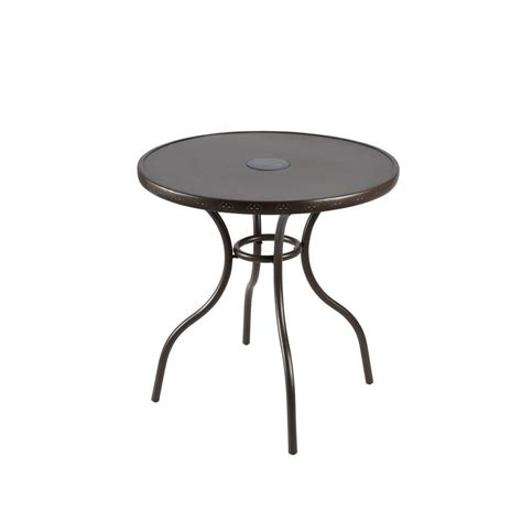 Home Depot Patio Table Hton Bay Led Patio Bistro Table Fts70387a The Home Depot