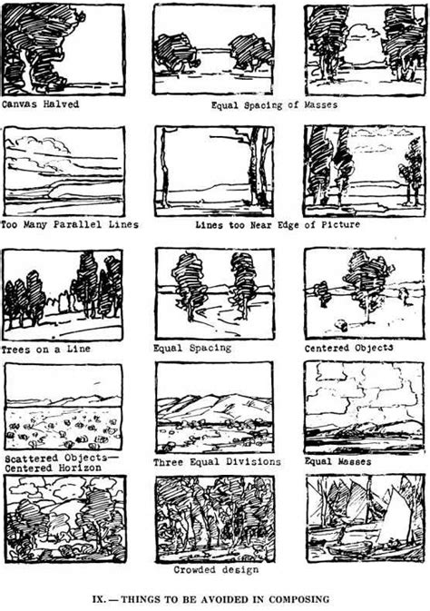 layout and composition pdf best 25 types of composition ideas on pinterest types
