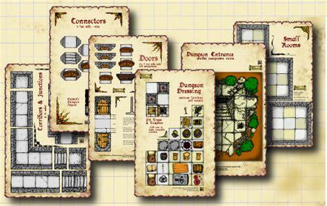 dungeon floor plans pdf dungeon tiles whq dnd home made floor plans dungeon tiles page 4