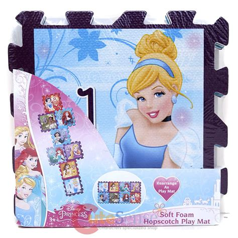 Disney Princess Hopscotch Mat - disney princess soft foam puzzle mat hopscotch play mat