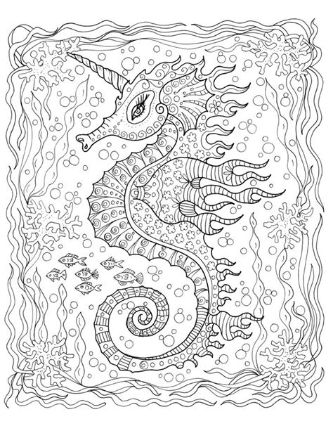 coloring pages for adults underwater 296 best images about under the sea coloring pages for