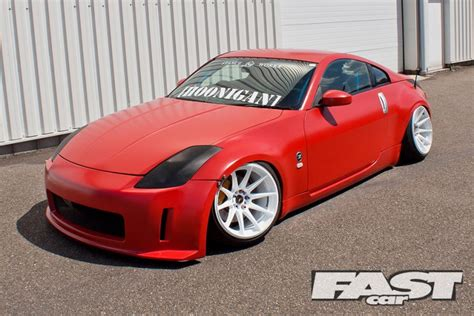 Modified Nissan 350z Fast Car