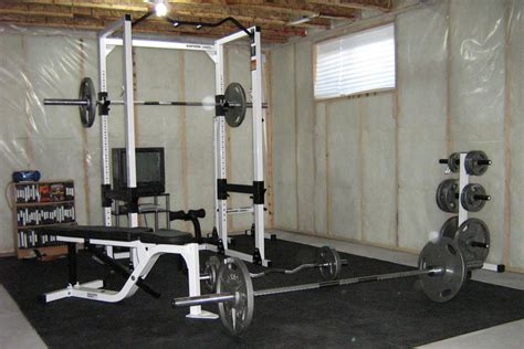 weight equipment needed for a home