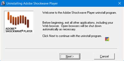 disable, uninstall adobe flash, shockwave in chrome, ie