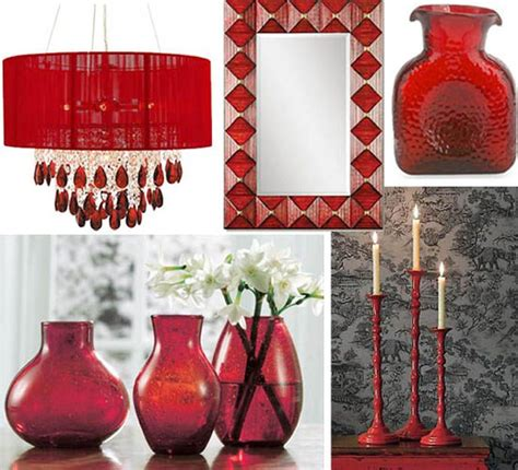 red home decor accessories best 25 red interior design ideas on pinterest red