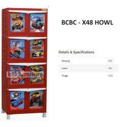 Lemari Napoly lemari plastik bcbc x48 howl napoly distributor promo