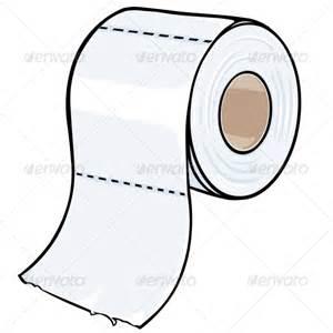 toilet paper cartoon toilet paper graphicriver