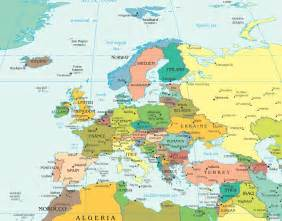 Europe City Map by Europe Cities Map Images