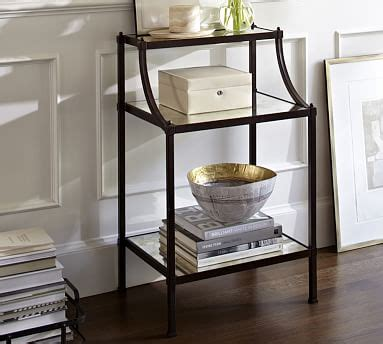 Pottery Barn Mirrored Nightstand by Etagere Nightstand Pottery Barn