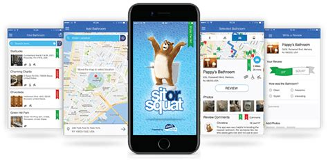 Charmin Bathroom App by Find A Bathroom When You Need It With Charmin Sit Or