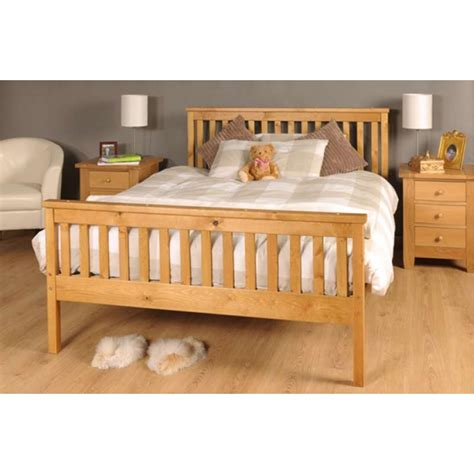solid wooden bed frames sardinia solid wooden handmade bedframe