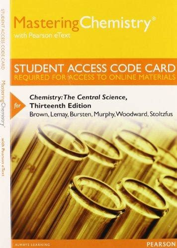 Ebook Mastering Direct Access Fundamentals masteringchemistry pearson etext by brown 13th edition direct textbook