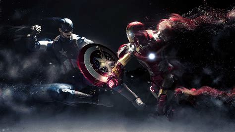 Punch Home Design For Windows 7 by Captain America Vs Iron Man Wallpapers Hd Wallpapers