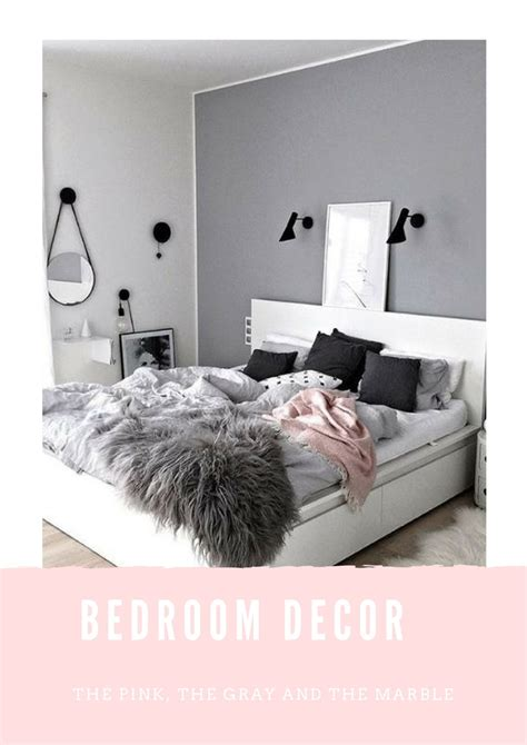 marble bedroom gray pink marble bedroom decor ideas abigail alice x