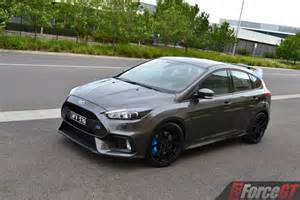 2017 ford focus rs review forcegt