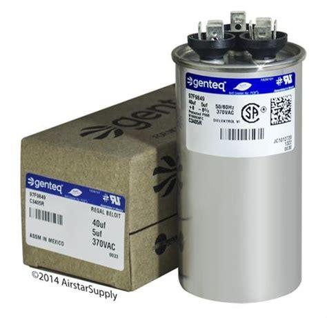 hc98ja041 40 5 uf mfd 370 volt vac bryant dual run capacitor upgrade