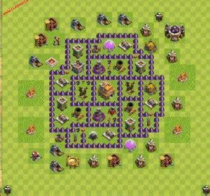 layout cv 7 para iniciante dicas jogo clash of clans layout cv 7