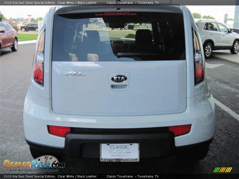 Kia Soul Ghost 2010 Kia Soul Ghost Special Edition Clear White Black