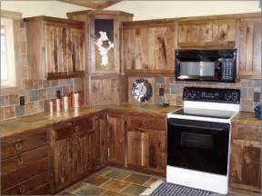 Rustic Kitchen Cabinet Rustic Kitchen Cabinet Ideas