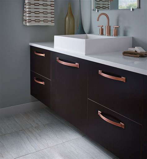 Copper Handles Kitchen Cabinets by Amerock Decorative Cabinet And Bath Hardware 1902324