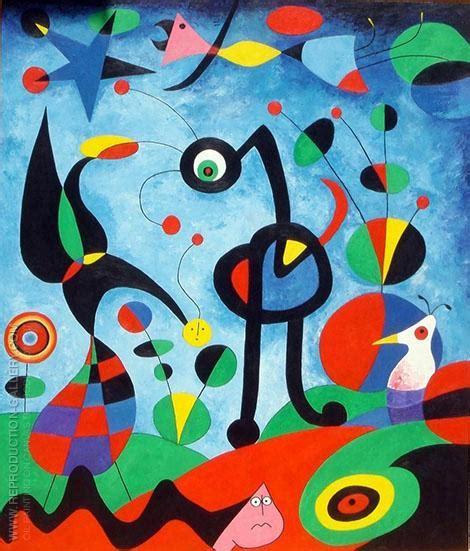 imagenes figurativas realistas famosas joan miro oil paintings art reproductions on canvas