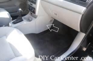fuse box location designation list for chevrolet cobalt pontiac g5 diy car center