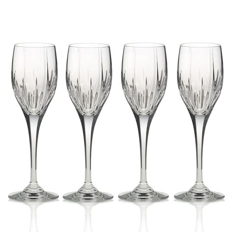 crystal wine glasses mikasa arctic lights crystal wine glasses set of 4 ebay