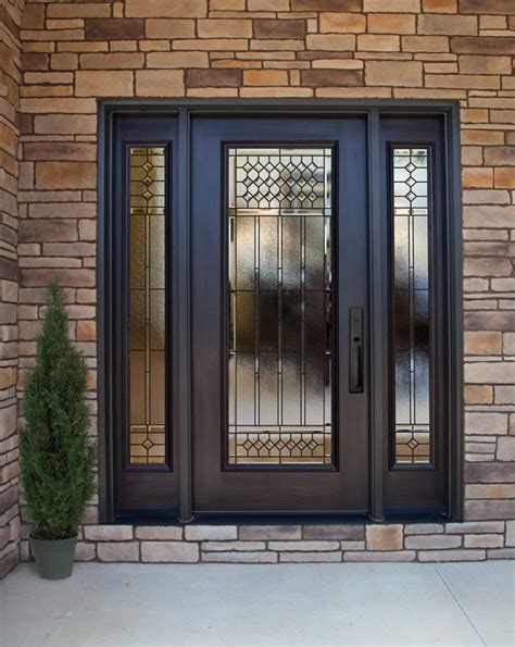 exterior steel doors with glass what are the best entry doors for your home provia
