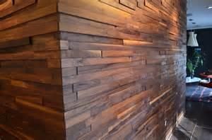 walnut plank wall two chair