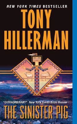 sinister justice books the sinister pig book by tony hillerman 7 available