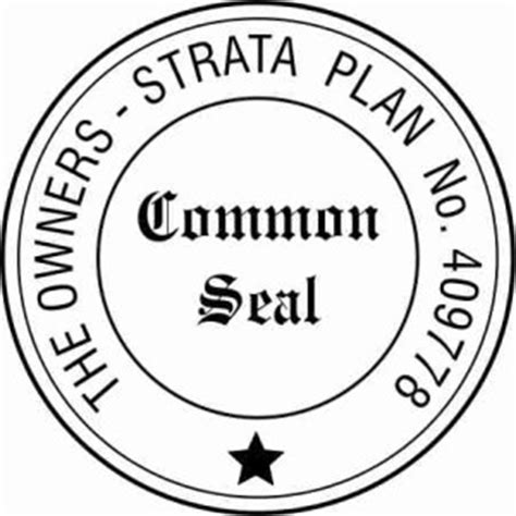 common seal template rubber st manufacturer pg sts bankstown