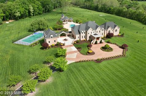 One Story House Plans With 4 Bedrooms 34 Acre Gated Estate In Gaithersburg Md Re Listed For 7