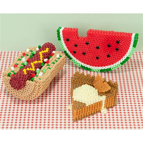 Master Suite Plans by 3d Picnic Faves Perler Beads