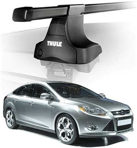 Ford Focus 2012 Roof Rack by 2012 Ford Focus Sedan Roof Rack Complete System Thule Traverse Cargogear