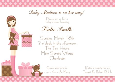 baby shower invitations girl theruntime com