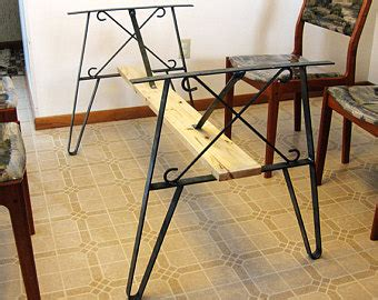 snowboard bench legs snowboard bench metal leg frame 16 75 inch high by rusticliving