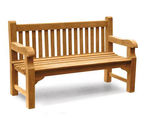 street benches balmoral 5ft teak park bench street bench lindsey teak