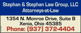 attorneys  law stephan stephan law group llc xenia
