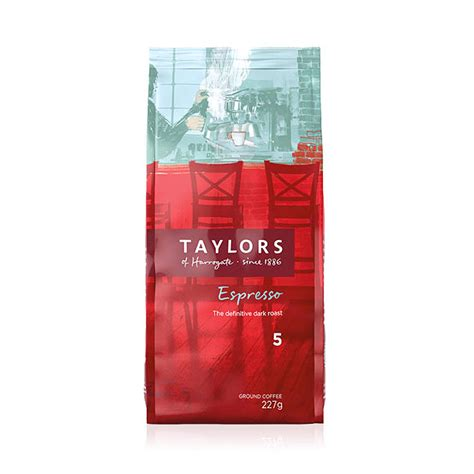 Taylors of Harrogate Espresso Ground Filter Coffee
