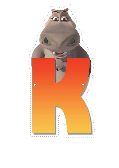 How to craft hippo letter k   Hellokids.com