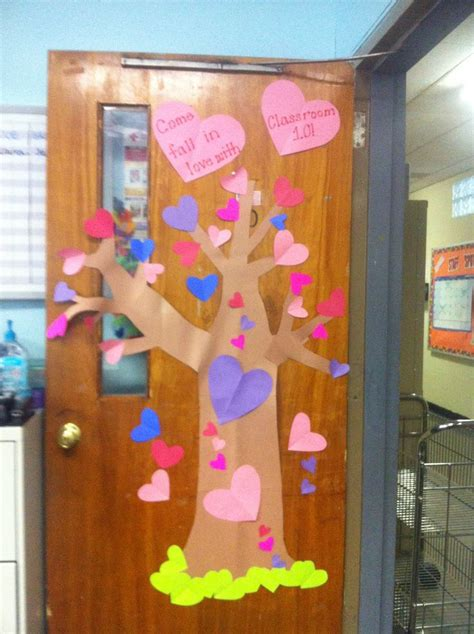 door decorations for valentines valentines day classroom door decoration seasonal