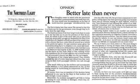 van angels editorial opinion and letter to the editor in