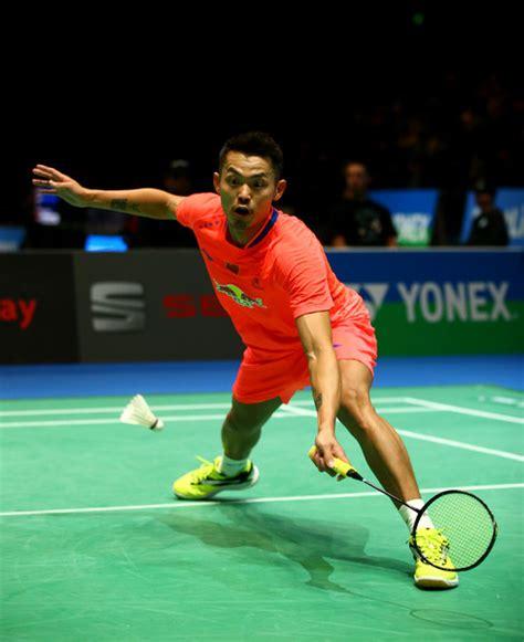 lin   yonex  england open badminton championships