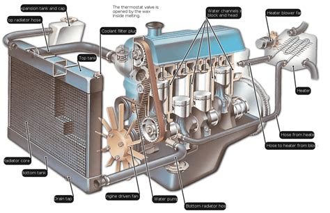 the cooling system vital parts common problems and