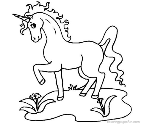 coloring page of unicorn unicorn coloring pages for kids az coloring pages