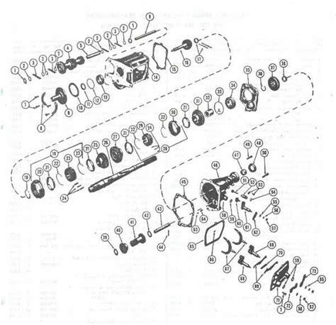 speed parts diagram muncie 4 speed parts diagram
