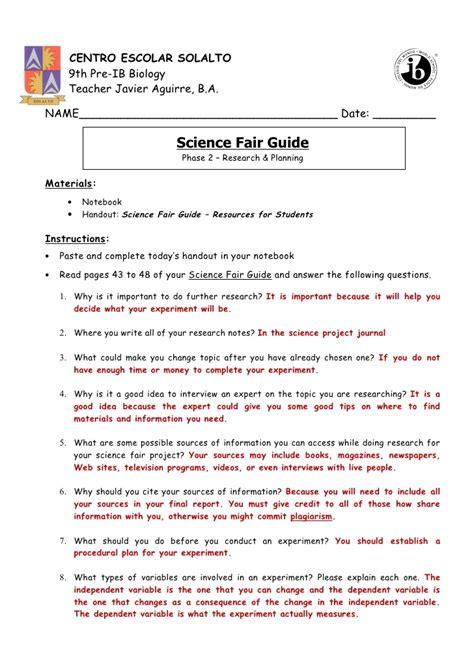 science fair report template search results calendar 2015