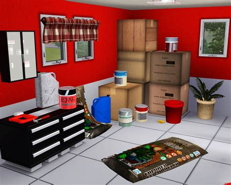 sims 4 moving boxes mod the sims garage clutter
