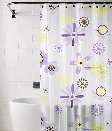 Skipper Purple And Yellow Polyester Shower Curtain Buy