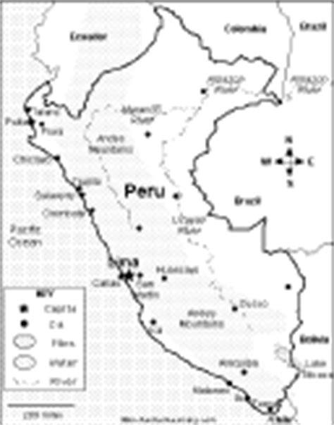 coloring page map of peru peru enchantedlearning com